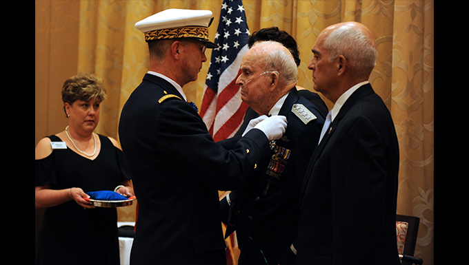Air Force General receives France's highest honor