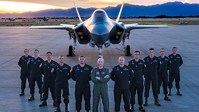 Introducing the F-35 Heritage Flight Team