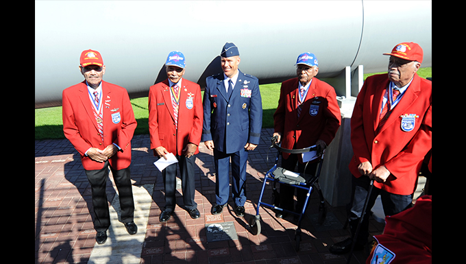 Thunderbolts honor Tuskegee Airmen