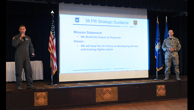 56th Fighter Wing's new mission, vision, and beliefs